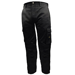 "Stanley Phoenix Black Work Trousers W32"" L31"""