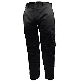 """Stanley Phoenix Black Work Trousers W36"""" L31"""""""