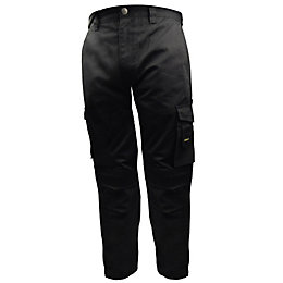 "Stanley Phoenix Black Work Trousers W34"" L33"""
