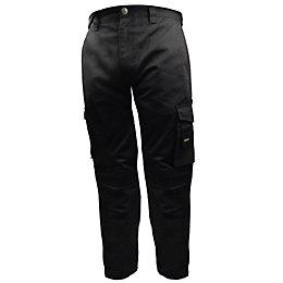 """Stanley Phoenix Black Work Trousers W34"""" L33"""""""