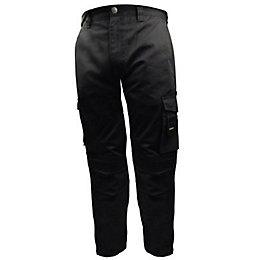 """Stanley Phoenix Black Work Trousers W36"""" L33"""""""