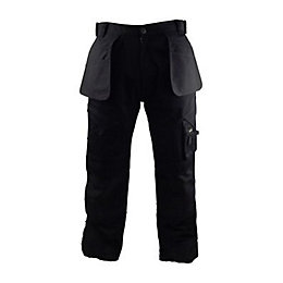 "Stanley Colorado Black Work Trousers W30"" L31"""
