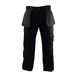 "Stanley Colorado Black Work Trousers W38"" L31"""