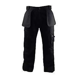 "Stanley Colorado Black Work Trousers W30"" L33"""