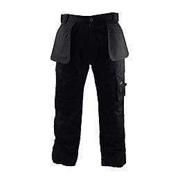 "Stanley Colorado Black Work Trousers W30"" L33"""