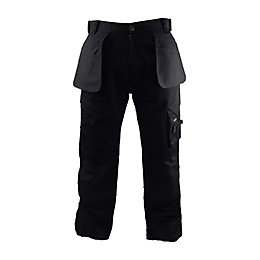 "Stanley Colorado Black Work Trousers W32"" L33"""