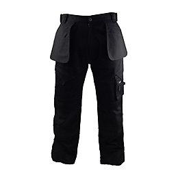 "Stanley Colorado Black Work Trousers W32"" L33"""