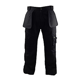 "Stanley Colorado Black Work Trousers W38"" L33"""