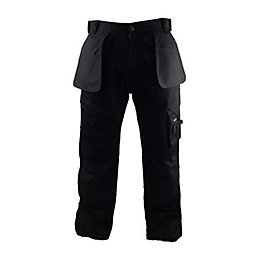 "Stanley Colorado Black Work Trousers W40"" L33"""