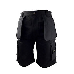 Stanley Warren Black Work Shorts W36""