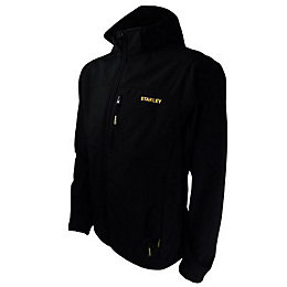 Stanley Andes Black Softshell Jacket Medium