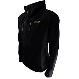 Stanley Austin Black Softshell Jacket Large