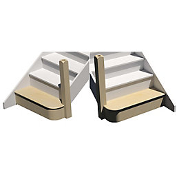 kWikstairs Bullnose Kit (W)Up to 900mm