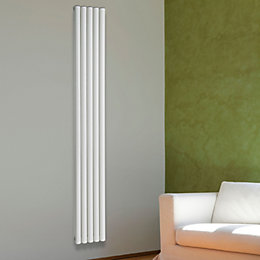 Chord Vertical Radiator White (H)2000 mm (W)345 mm