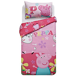 Peppa Pig Peppa Pig Multicolour Single Children's Duvet
