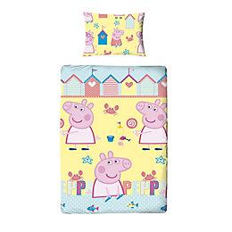 Peppa Pig Multicolour Single Duvet Set