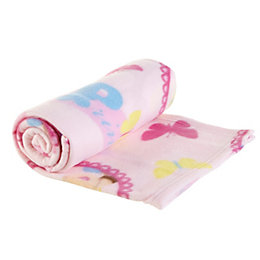 Disney Pink Princess Fleece Blanket