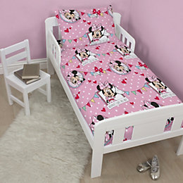 Disney Minnie Mouse Pink Junior Bundle Bed Set