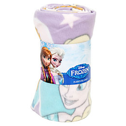 Disney Frozen Multicolour Anna & Elsa Fleece Blanket