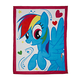 Multicolour My Little Pony Fleece Blanket