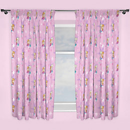 Multicolour Frozen Magic Pencil Pleat Curtains (W)66""