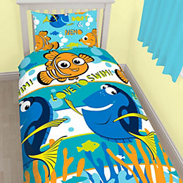 Disney Pixar Finding Dory Multicolour Single Bed Set
