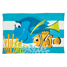Finding Dory Multicolour Fleece Throw