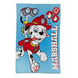 Paw Patrol Multicolour Marshall Fleece Thow