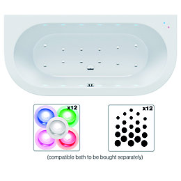 Cooke & Lewis Airspa Chroma Therapy LED Wellness