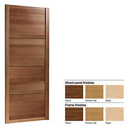 Made to Measure Shaker 4 Panel Wood Effect