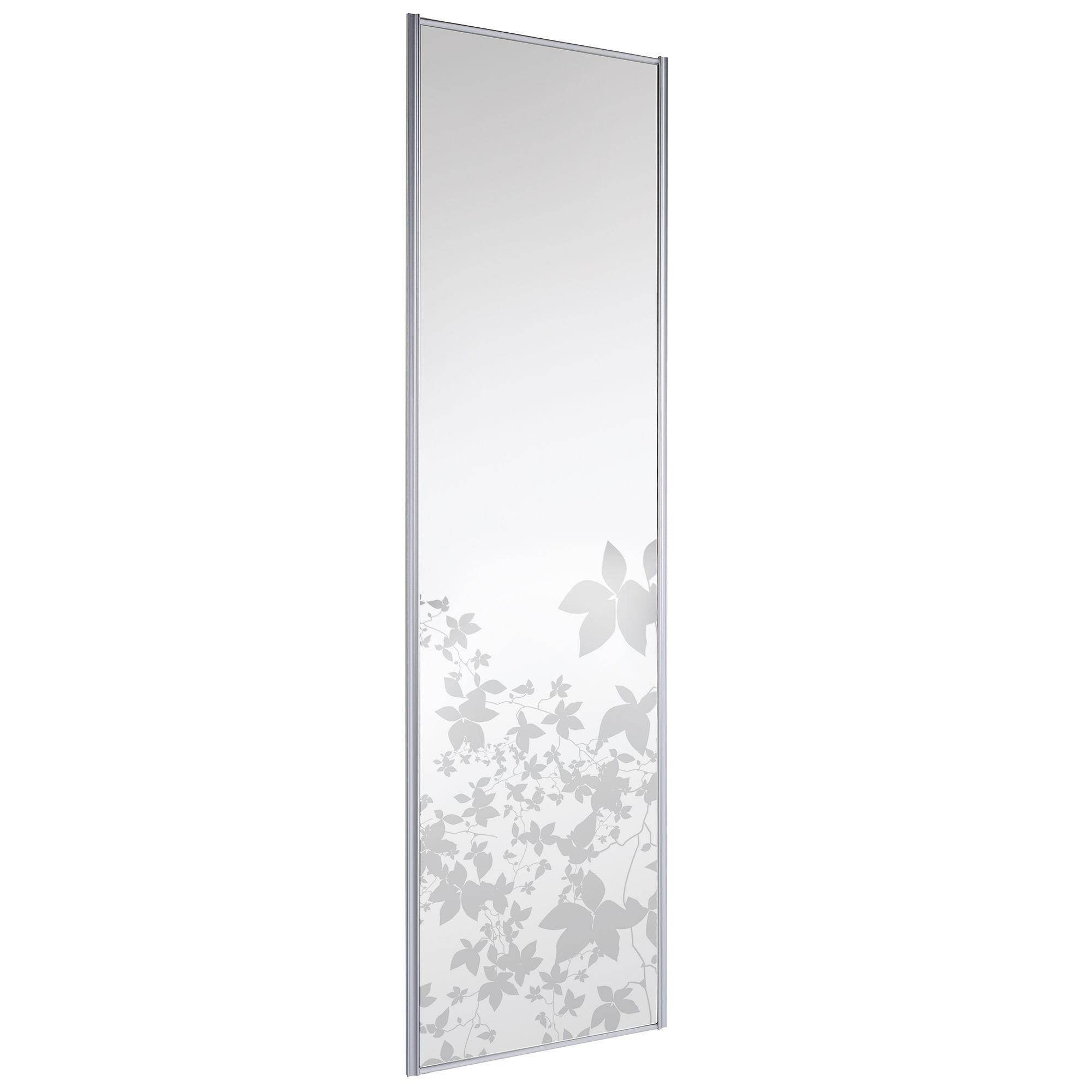 Full Length Mirror Mirror Sliding Wardrobe Door H 2220 Mm