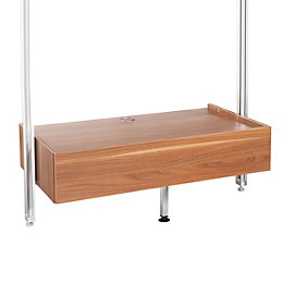 Spacepro Relax Walnut Effect Relax Media Box (W)900mm