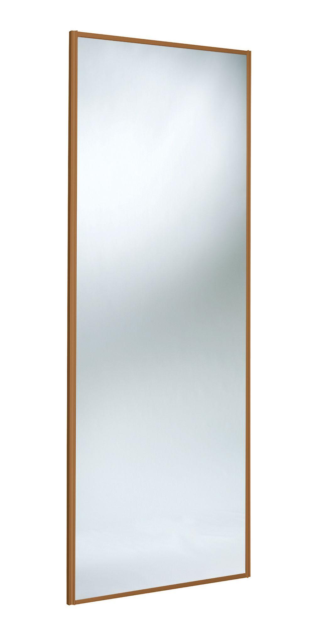 Panel Full Length Mirror Mirror Sliding Wardrobe Door (h)2220 Mm (w)762 Mm