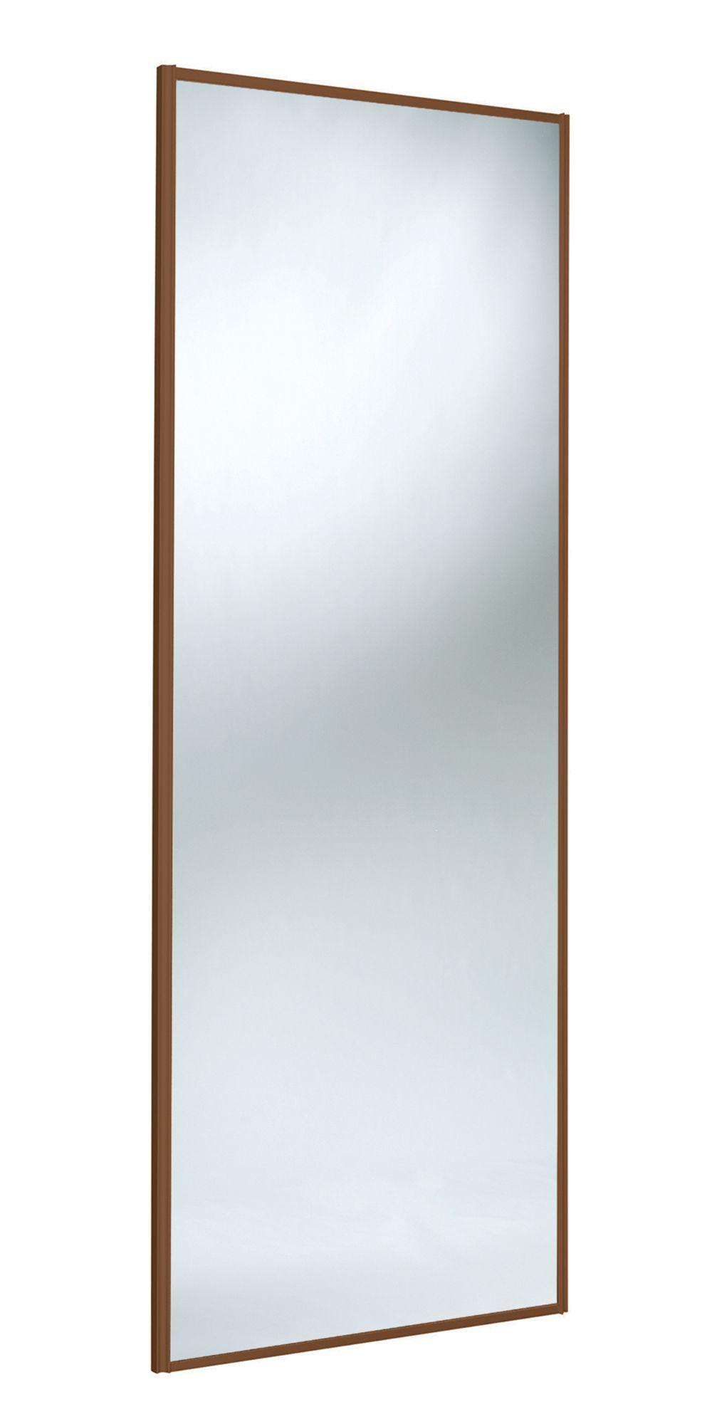 Panel Full Length Mirror Mirror Sliding Wardrobe Door (h)2220 Mm (w)610 Mm