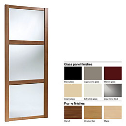 Made to Measure Shaker 3 Panel Glass/ Mirror/