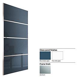Made to Measure Minimalist 4 Panel Pure White