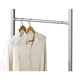 Spacepro Aura Silver Extendable Hanger Bar Kit (W)1300mm