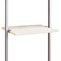 Aura White Shelf (L)550mm (D)500mm