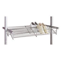 Spacepro Aura Silver Shoe Rack (W)900mm