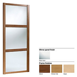 Made to Measure Shaker 3 Panel Mirror/ Mirror/