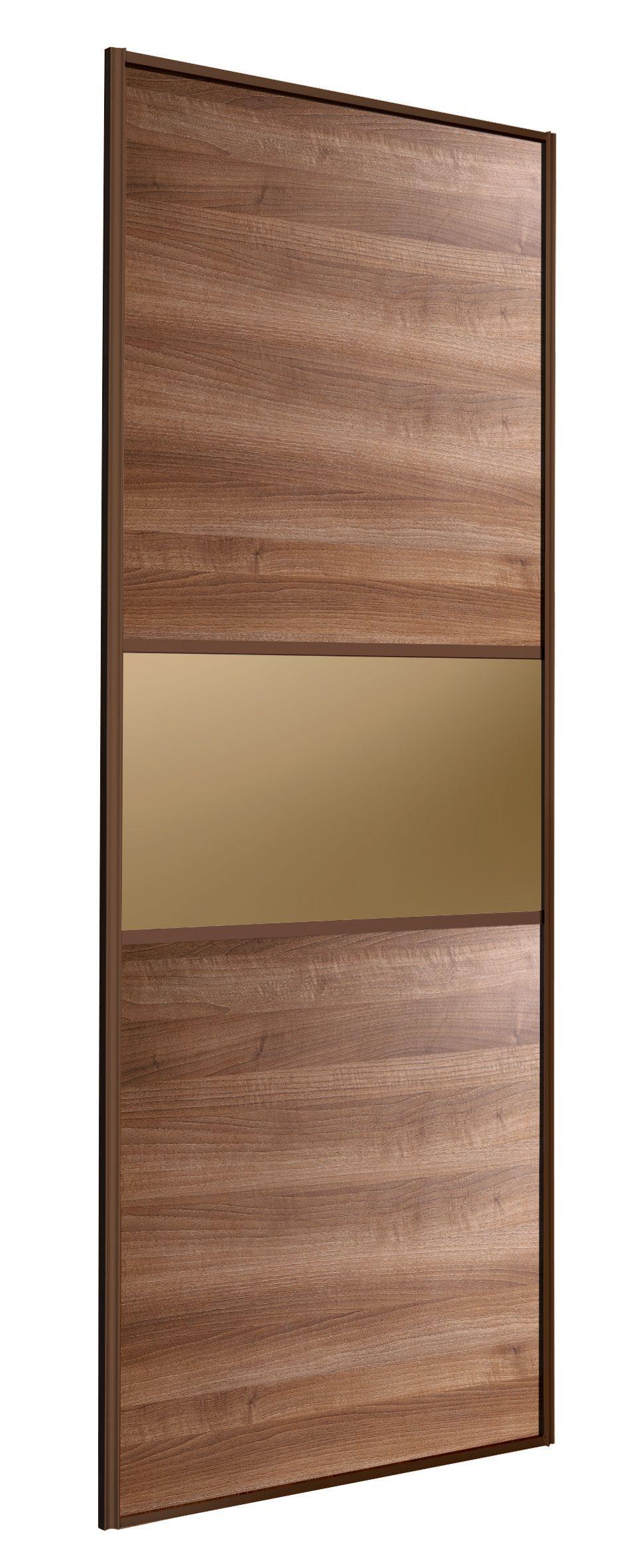 Shaker oak effect sliding wardrobe door h 2220 mm w 914 for B q bedrooms sliding wardrobe doors