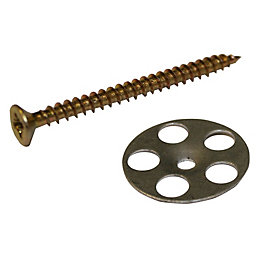 Aquadry Wet Room Washer & Screw (W)45mm (L)25,