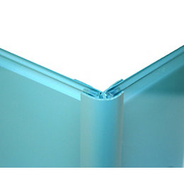 Vistelle Blue Atoll Shower Panelling External Corner (L)2.50m