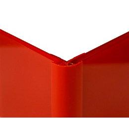 Vistelle Red Shower Panelling External Corner (L)2.5m (W)25mm