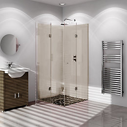 Vistelle Safari Single Shower Panel (L)2.44m (W)1m (T)4mm