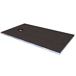 Aquadry End Drain Shower Tray Former Kit (L)1600mm