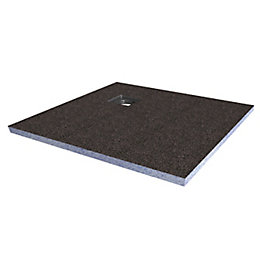 Aquadry Corner Drain Shower Tray Former Kit (L)900mm