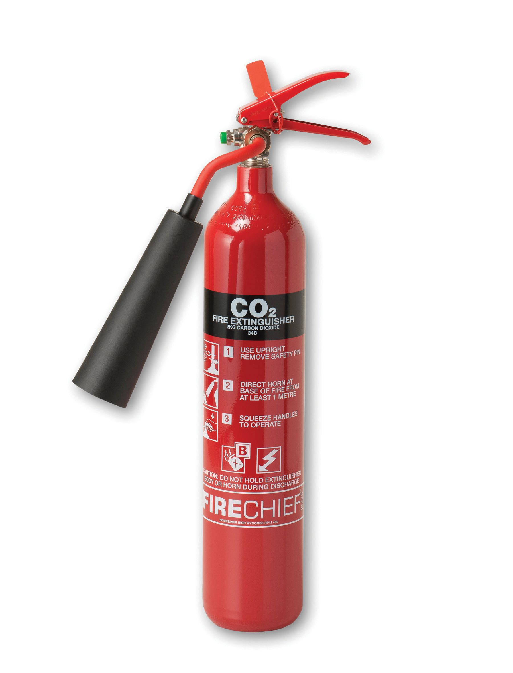 Firechief Carbon Dioxide Fire Extinguisher 6.8kg