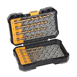 JCB HSS Tin Mixed Drill Bit Set, 10