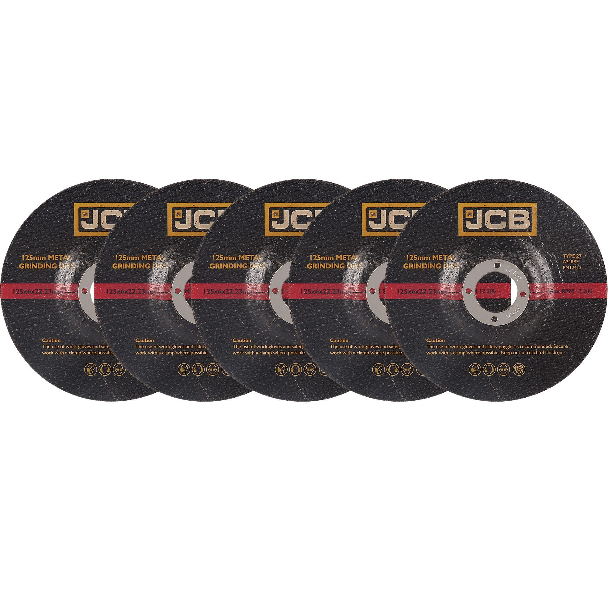 Jcb (dia)125mm Grinding Disc